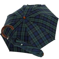Maple wood and cotton, two natural products, a rare combination on a pocket umbrella. The frame made of tempered Steel is nickel-plated and polished. The individual ribs are partly positioned twice on top of each other providing extreme stability in all weather conditions. Central parts of the ribs are warp resistant and all rivets are solid brass. The umbrella is easly usable. The canopy is made of a high-quality cotton fabric. The handle is made of polished Canadian maple wood. The…