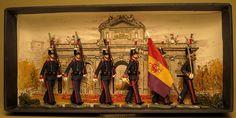a Milicia Nacional de Madrid de gala años 1931-36. http://vintagetoysoldiers-bravo.blogspot.com.es/ COMPTE