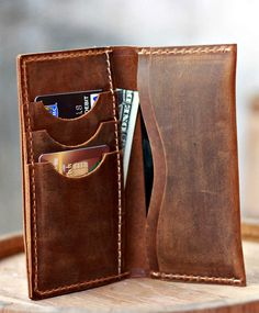 Awesome Leather Wallet <3  https://www.etsy.com/listing/153701857/leather-iphone-5-wallet-clutch-purse?ref=shop_home_feat