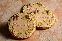 Floral cookies by Farina farina. 今度のアイシングクッキー-gooブログ