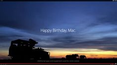 "▶ Mac @30 ad! ""1.24.14"" • 1min27sec • ""Shot in one day entirely on iPhone. Happy Birthday, Mac."" • YouTube off'l Apple description: ""Thirty years ago Macintosh promised to put technology in the hands of the people. To celebrate Mac's birthday, this film was shot around the world in one day, entirely on iPhone. Here's to the next thirty."" • depicted: Apple's ad screenshot on last screen"