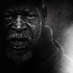 portrait of a homeless man  lee jeffries