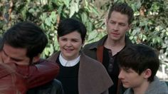 """Emma, Hook, Mary Margaret, David and Henry - 4 * 20 """"Mother"""" #CaptainSwan"""