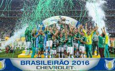 Palmeiras é campeão brasileiro de 2016