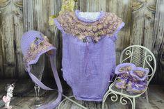 Lilac Onesie Set