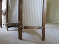 sewBOLD: DIY A Folding Screen