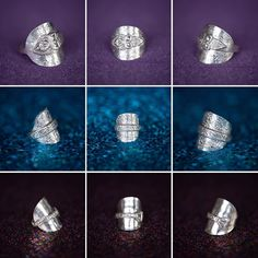 @lady.rock.crafts posted on Instagram • Aug 4, 2020 at 4:19am UTC Diy Rings, Jewelry Rings, T Shirt Remake, Spoon Rings, Old T Shirts, Rock Crafts, Class Ring, Craft Projects, Lady