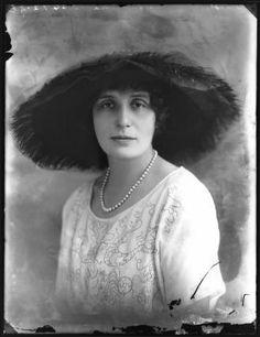 Therese Lubomirska, Princess Sapieha, Bassano Ltd Edwardian Era, Victorian Era, National Portrait Gallery, Royalty, Hat, Princess, Poster, Painting, Royals