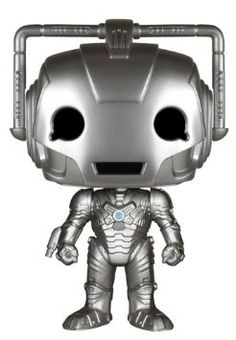 Travel through time and space with this Dr. Who- Cyberman POP vinyl figure! Based on the incredibly popular television series, this POP embodies that distinctive look and feel of the longest-running s