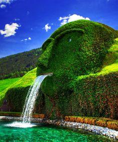 Gaint Fountain,Swarovski Kristallwelten,Wattens, Austria: - PixoHub