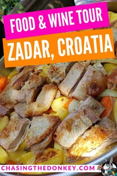 If you have a soft spot for fantastic food and wine and want to learn how to make the most succulent, tasty meat using a Croatian Peka, you are in the right place with this food and wine tour in Zadar, complete with a cooking class. Croatia Travel Guide, European Travel Tips, Drinking Around The World, Visit Croatia, Croatian Recipes, Best Places To Eat, Cooking Classes, Foodie Travel, So Little Time
