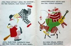 "Circus "" Tsirkus"" by S. Marshak illustrated by V.Lebedev"