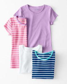 Favorite Cotton Tee - Garnet Hill Kids $18