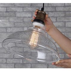 Retro Pendant Lamp Vintage Chandelier Glass Ceiling Fixture Lighting LS20 #UNBrand