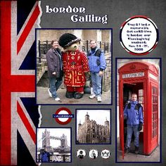 London Calling - Scrapbook.com