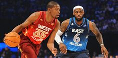 KD over LeBron at 2012 All-Star game