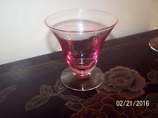 (1) Tiffn  Franciscan Wisteria Pink #17477 Oyster/Fruit Cocktail