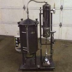 10 Gallon Stainless Steel Distiller #distillation #copper #alembic #distiller #essential oil #hydrosol