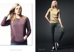 Modèle Sweat Shirt Gwendoline et Modèles Axelle et Zoé (t-shirt)