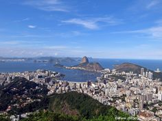 The city of Rio de Janeiro and Sugarloaf Mountain