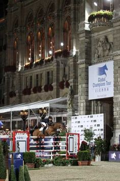 Step aside Doda and Rodrigo, there is a new Brazilian poster boy in town and his name is Marlon Zanotelli. He won the Vienna Six bar, winning equal first with none-other then France's Patrice Delaveau riding Ornella Mail HdC. The boys jumped an impressive 1.95m before they called it a day.