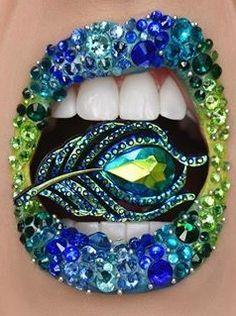Crazy Lipstick, Lipstick For Fair Skin, Velour Liquid Lipstick, Lipstick Art, Lip Art, Face Paint Makeup, Eye Makeup Art, Fairy Makeup, Lip Makeup
