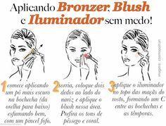pele de verão como aplicar bronzer, blush e iluminador borboletas na carteira-2