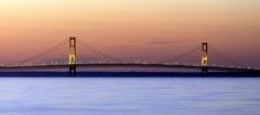 Mackinac Bridge to be bathed in blue for autism | News  - Home