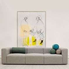Hay Mags Soft 2 Sofa designed by Hay. features: Hay Studio gave attention to all elements while creating the Mags Sofa. Sofa Design, Hay Design, Sofa Furniture, Furniture Design, Cadeau Design, 5 Seater Sofa, Living Room Colors, Contemporary Furniture, Interior Design Living Room