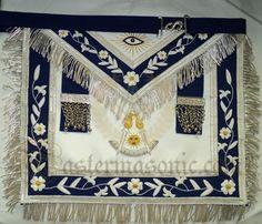 Masonic Past Master Apron Grand Lodge, Masonic Lodge, Masonic Symbols, Eastern Star, Medieval Knight, World Images, Freemasonry, Knights Templar, Custom Metal