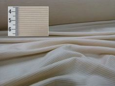 Stripe Single Jersey Merino, 1mm, Beige and Toitoi, Levana Textiles Factory Shop, Made in New Zealand