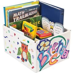 Ready-To-Decorate™ Book And Manipulative Boxes