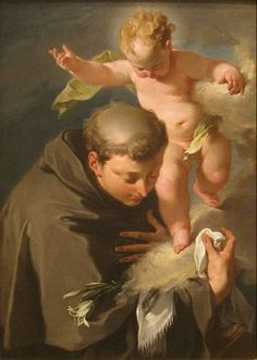 """Happy feast day of St Anthony of Padua! June 13 – The """"Wonder-Worker"""" So simple and resounding was his teaching of the Catholic Faith, so that the most unlettered and innocent might understand it, that he.............A Yearbook of Saints 