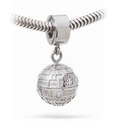 Star Wars Death Star Charm Bead