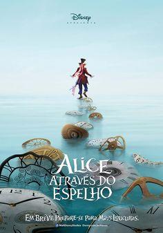 Pôsteres de Alice Através do Espelho da Disney
