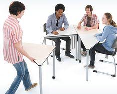 Home - Kamira Konzepteinrichtungen - flexible Lernräume - Schulmöbel Furniture, Home Decor, Triangles, Concept, Mornings, School, Homemade Home Decor, Home Furnishings, Interior Design