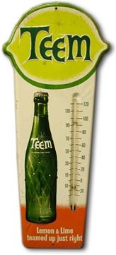 Teem is a lemon-lime-flavoured soft drink produced by The Pepsi-Cola Company. It was introduced in 1964 as Pepsi's answer to 7 Up and Coca-Cola's Sprite.