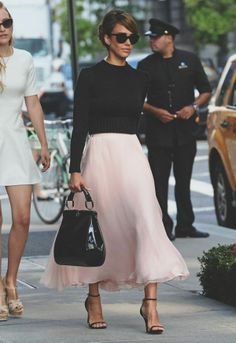 {fashion | style inspiration : just like a ballerina}.