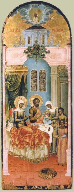 Nativity of the Virgin. Yaroslavl. The end of the XVIII century.