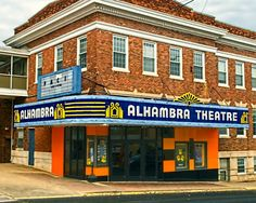 Alhambra Theatre, Hopkinsville, Kentucky. Opened in 1928. My Grandfather, William H. Waller and his brother (my Uncle John) John T. Waller were the architects. Uncle John owned the business, Grand Dad (Popeye to me) worked for him.