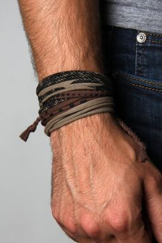 Bracelet pour homme cadeau pour les hommes Wrap par Necklush