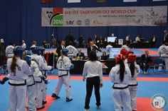 Me with my friends on Taekwon-do ITF World Cup 2016 in Budapet :) Amazing people and incredible experience :D