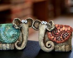 Log in to your Etsy account. Clay Sculptures, Animal Sculptures, Ceramic Pottery, Pottery Art, Cute Monsters, Clay Animals, Clay Dolls, Inspiration For Kids, Clay Creations