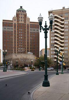 plaza motor hotel el paso - Google Search
