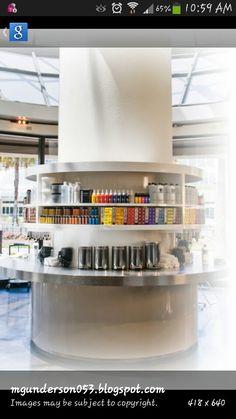 Salon ideas for a color bar....