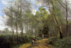 corot paintings | Ville d'Avray