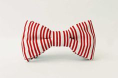 Bow Tie Clip On Handcrafted  MARTY JNR. by FERGUSANDTHECAT on Etsy, $34.95