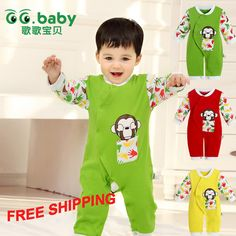 Find More Rompers Information about Carters Cheap Spring Autumn Baby Boy Girl Rompers Cute Baby Boy Clothing Cotton Baby Jumpsuit Monkey Newborn Baby Boy Rompers,High Quality Rompers from GG. Baby Flagship Store on Aliexpress.com