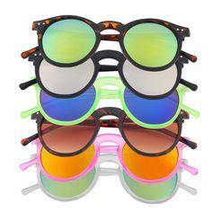 Hot Sale Retro bike Glasses Vintage goggles Unisex Mirror lens Round Bike Cycling Eyewear Bicycle glasses Wholesale