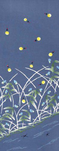 Chusen TENUGUI Hotaru 37 x 98cm Hotaru: Firefly